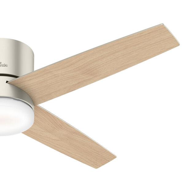 Advocate Low Profile Matte Nickel 54-Inch DC Motor Smart LED Ceiling Fan, image 6
