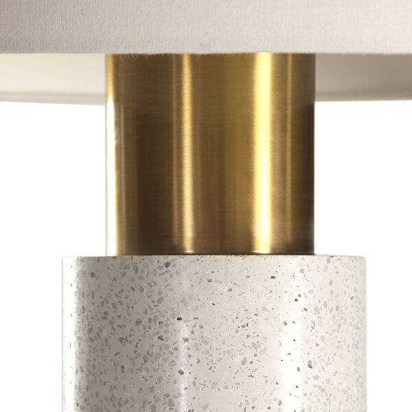 Vaeshon Concrete One-Light Table Lamp, image 5