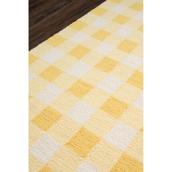 Geo Yellow Rectangular: 7 Ft. 6 In. x 9 Ft. 6 In. Rug, image 3