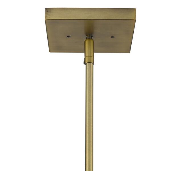Loft Brass Three-Light Pendant, image 6