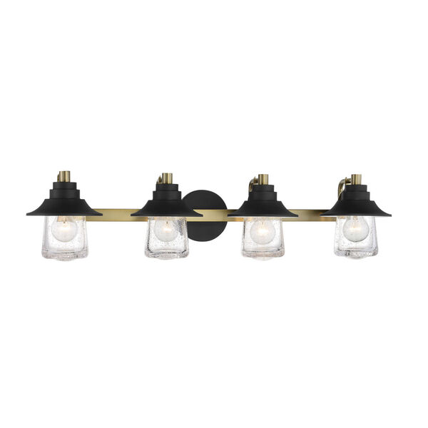 Westfield Manor Sand Coal And Soft Brass Four-Light Bath Vanity, image 1