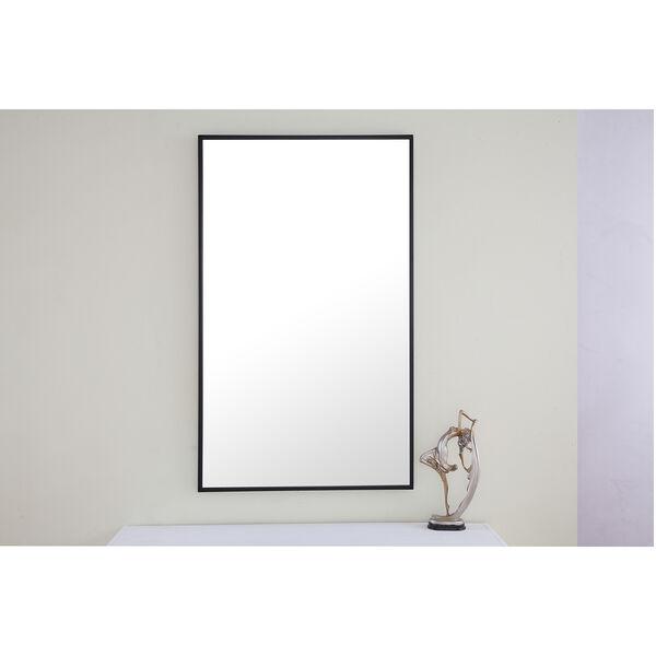 Eternity Black 24-Inch Mirror, image 6