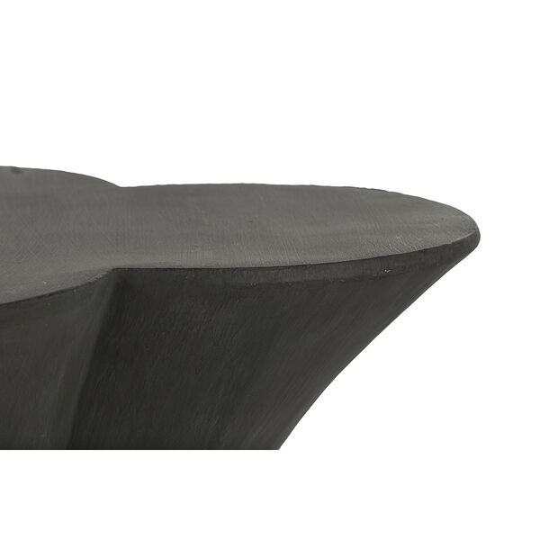 Carlin Textured Charcoal Black End Table - (Open Box), image 3