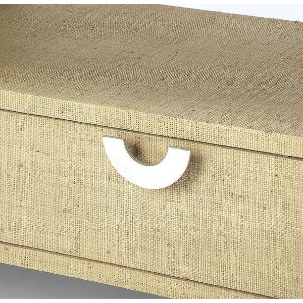 Loft Amelle Cream Raffia Console Table, image 3