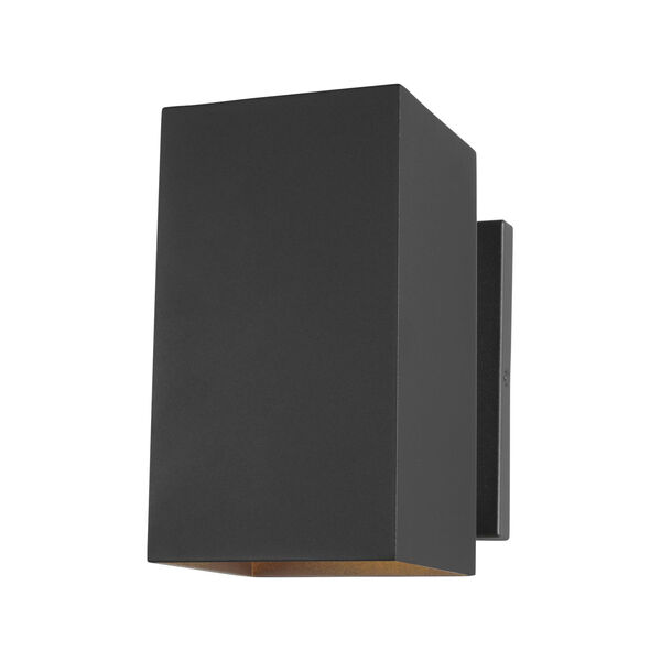 Pohl Black Nine-Inch One-Light Outdoor Wall Sconce, image 1