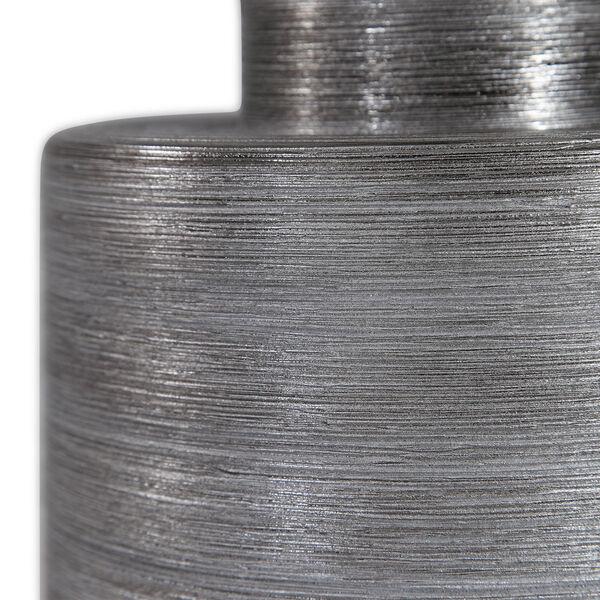 Anitra Metallic Silver 1-Light Table Lamp, image 4
