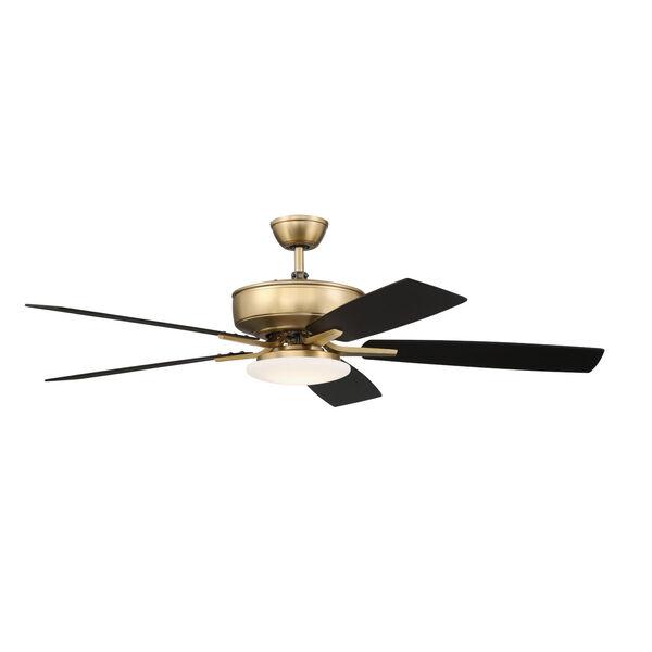 Pro Plus Satin Brass 52-Inch LED Ceiling Fan, image 5