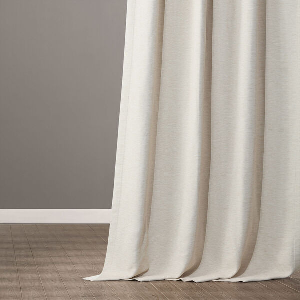 Bellino Cottage White 50 x 120-Inch Blackout Curtain, image 5