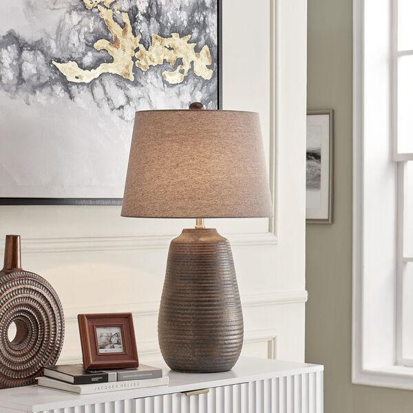 Paley Metallic Bronze One-Light Table Lamp, image 3