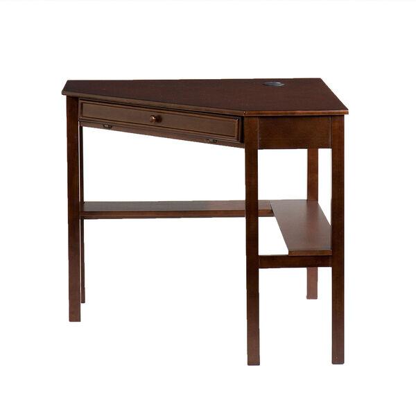 Espresso Corner Desk, image 3
