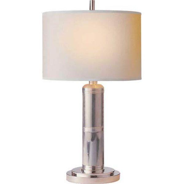 Polished Nickel Longacre Small Table Lamp, image 1