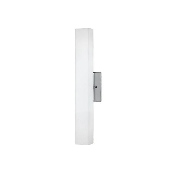 Nickel 18-Inch One-Light LED Sconce, image 1