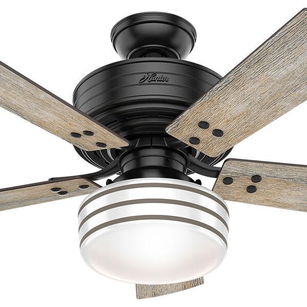 Cedar Key Matte Black 44-Inch One-Light LED Adjustable Ceiling Fan, image 2