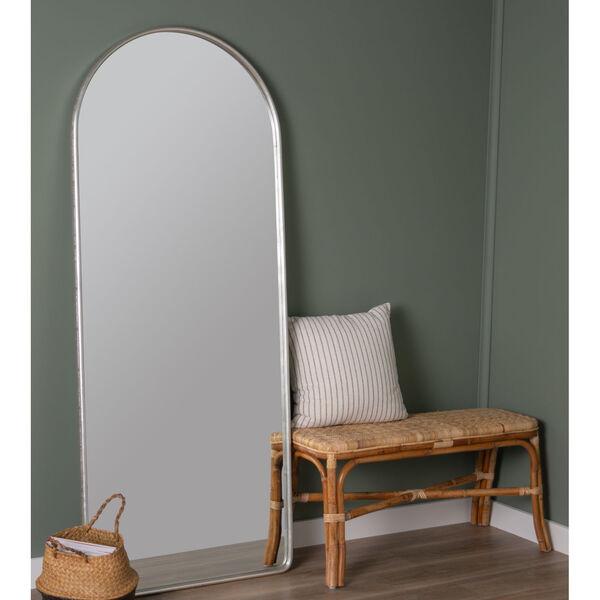 Colca Silver 69-Inch x 28-Inch Floor Mirror, image 1