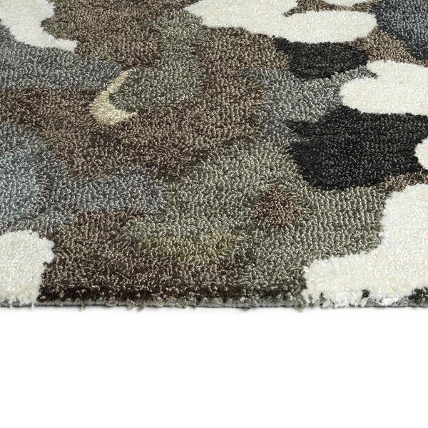 Flora Fantasies Gray Indoor/Outdoor Rug, image 3