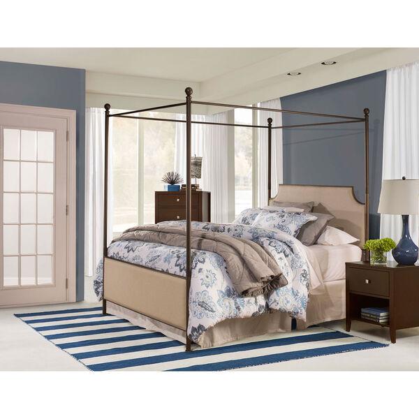 McArthur Canopy Bed Set - Bronze Finish - King - Bed Frame Included, image 1