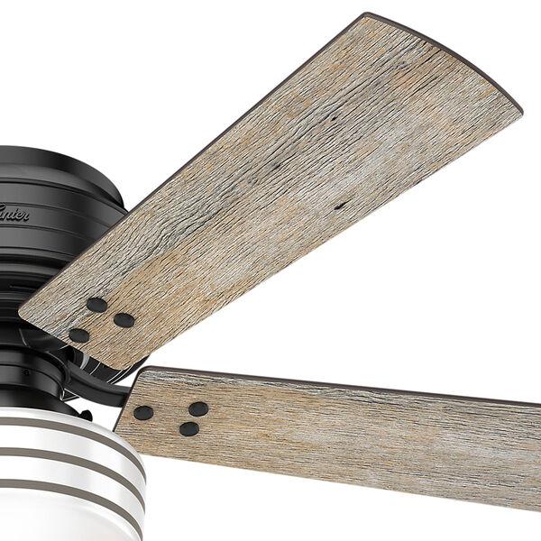 Cedar Key Matte Black 52-Inch One-Light LED Ceiling Fan, image 4