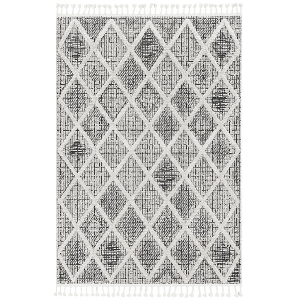 Willow Charcoal Rectangular: 3 Ft. 3 In. x 4 Ft. 11 In. Rug, image 1