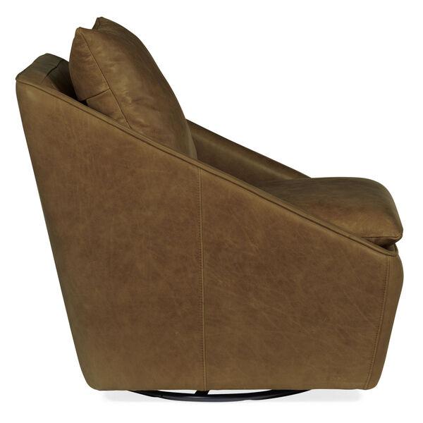 Coeval Brown Swivel Club Chair, image 3