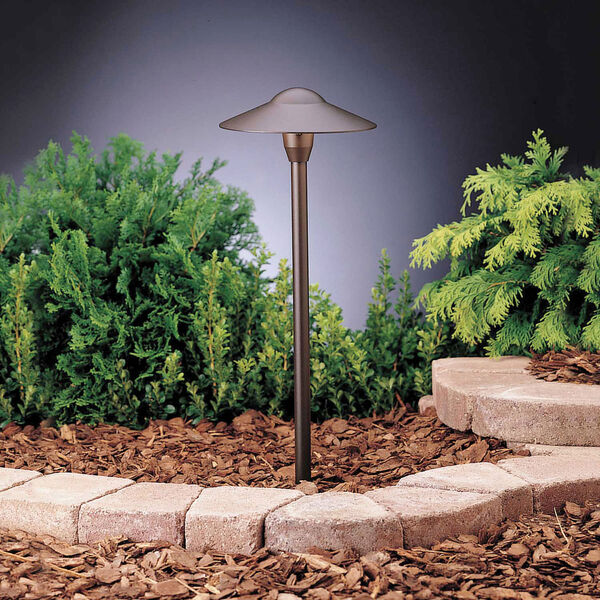 Textured Architectural Bronze 21-Inch One-Light Landscape Path Light, 6 Pack, image 1