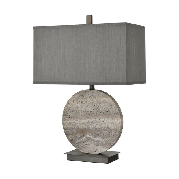 Vermouth Dark Dunbrook and Grey Stone One-Light Table Lamp, image 2