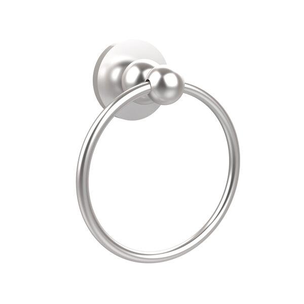 Satin Chrome Towel Ring, image 1