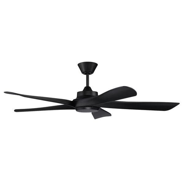 Captivate Flat Black 52-Inch Ceiling Fan, image 1