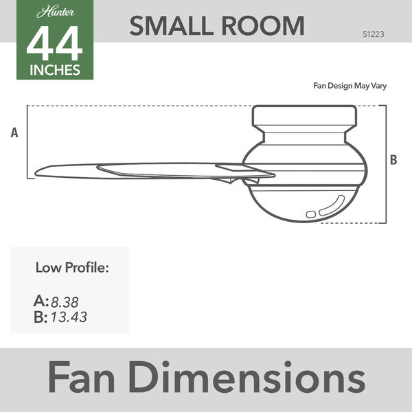 Lilliana Brushed Nickel 44-Inch Two-Light LED Ceiling Fan, image 6