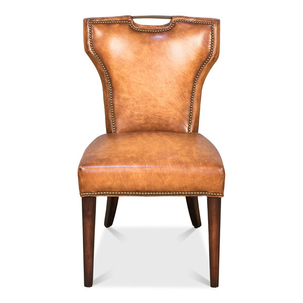 Brown Upholsterd Chairs, image 2