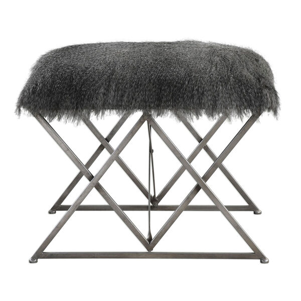 Astairess Fur Small Bench, image 1