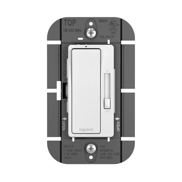 1100VA Tri-Color Magnetic Low-Voltage Single Pole 3-Way Dimmer, image 1