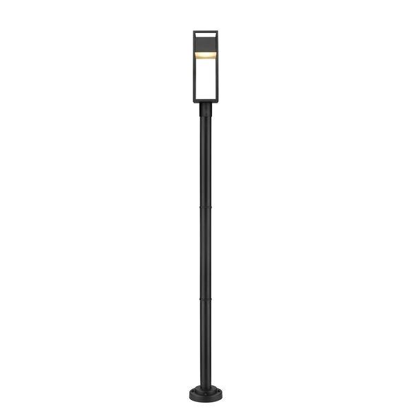 Barwick Black 95-Inch One-Light LED Outdoor Post Mount, image 4