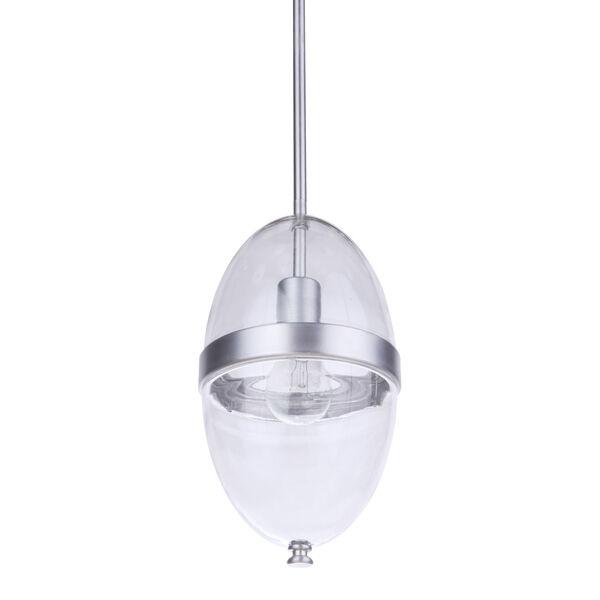 Sivo Satin Aluminum One-Light Outdoor Mini-Pendant, image 6
