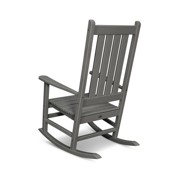 Vineyard White Porch Rocking Chair, image 3