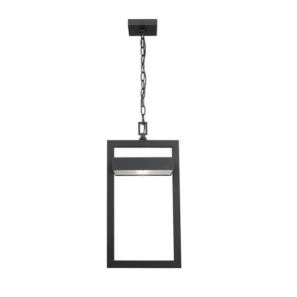 Luttrel Black One-Light LED Outdoor Pendant, image 2