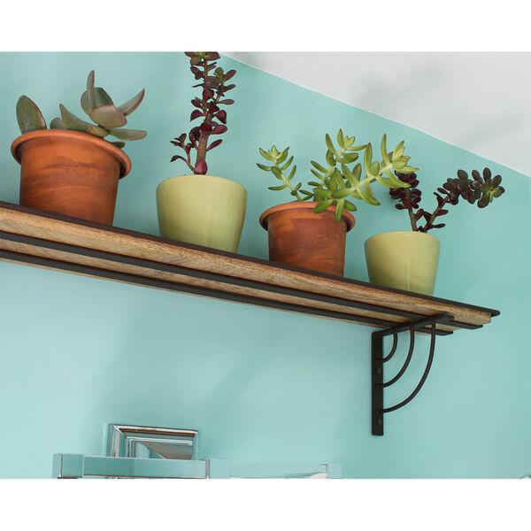 Vita Roman Bronze Powdercoat Windowsill Shelf Bracket, image 4