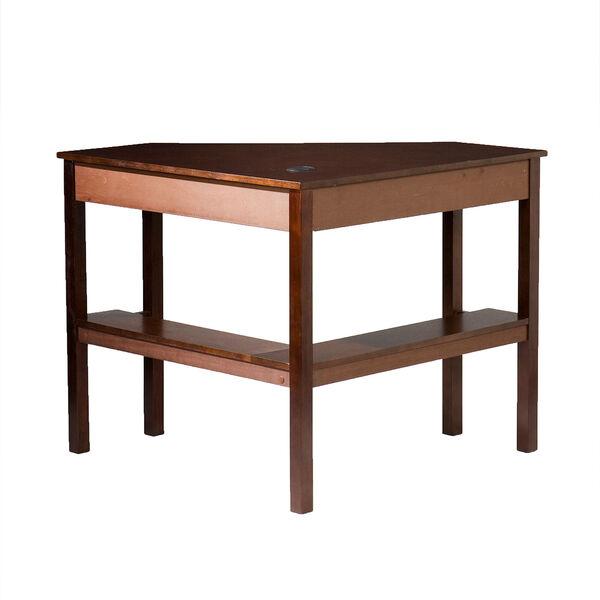 Espresso Corner Desk, image 2