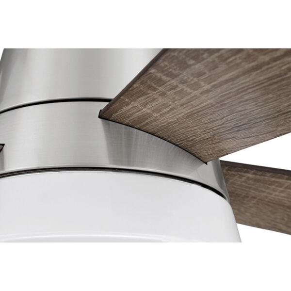 Revello Brushed Polished Nickel 52-Inch LED Ceiling Fan, image 4