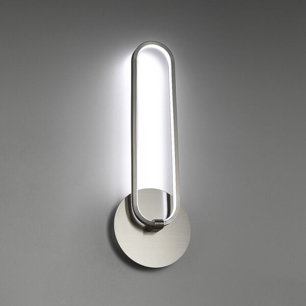 Charmed Brushed Nickel Three-Inch LED Wall Sconce, image 4