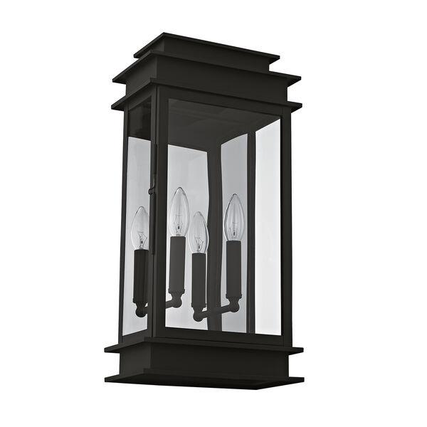 Princeton Black Two-Light 19-Inch Wall Lantern, image 3