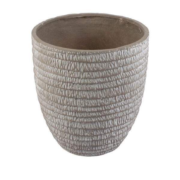 Beige Round Flower Pot ,Set of 5, image 2