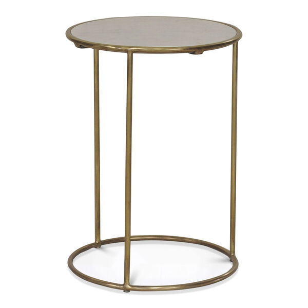 Gold Side Table, image 3