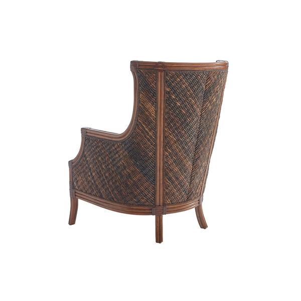 Bali Hai Brown and Blue Rum Beach Chair, image 2