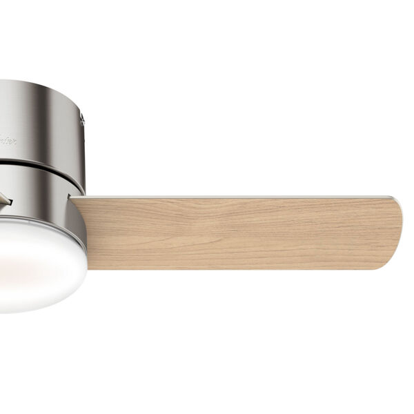 Minimus Low Profile Brushed Nickel 44-Inch LED Ceiling Fan, image 5