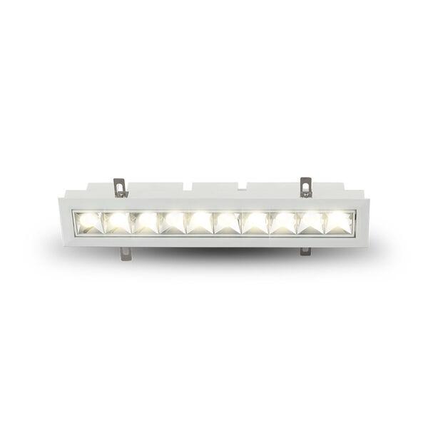 Rubik White 10-Light Adjustable LED Recessed Downlight, image 2