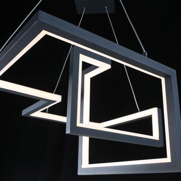 Minecraft Black LED Pendant, image 4