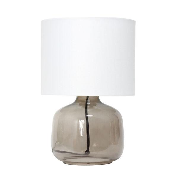Cerise Smoke White One-Light Table Lamp, image 1