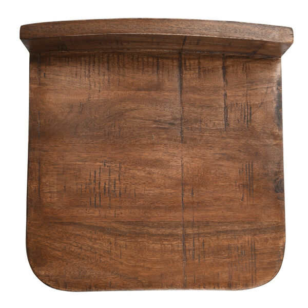 Pennie Caramel Brown and Black Counterstool, image 5