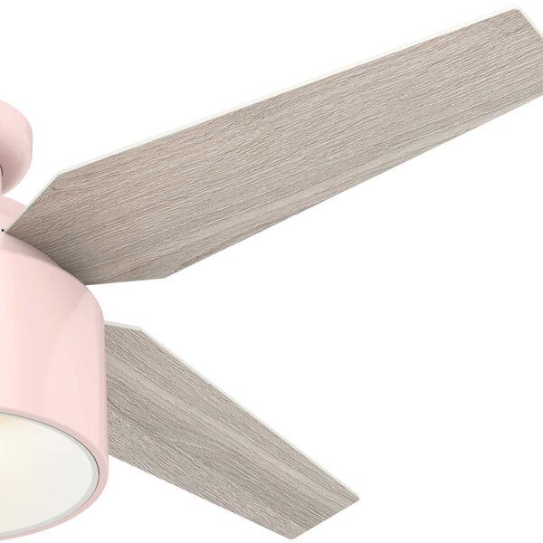 Cranbrook Low Profile Blush Pink 52-Inch LED Ceiling Fan, image 4