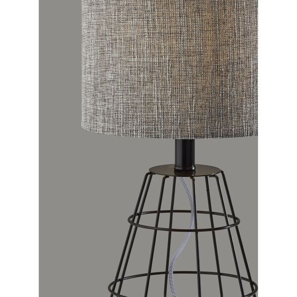 Victor Black One-Light Table Lamp, image 3